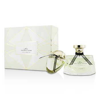 BvlgariMon Jasmin Noir L'Eau Exquise Coffret: Eau De Toilette Spray 75ml/2.5oz + Eau De Toilette Spray 15ml/0.5oz 2pcs