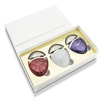 Bvlgari Omnia The Jewel Charms Collection Coffret: Omnia Crystalline + Omnia Coral + Omnia Amethyste  3x15ml/0.5oz