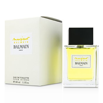 Monsieur Balmain Eau De Toilette Spray BA004A01 Pierre Balmain Monsieur Balmain Eau De Toilette Spray BA004A01 100ml/3.3oz