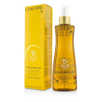 LancomeSoleil Bronzer Smoothing Protective Oil Luminous and Even Tan SPF15200ml/6.7oz