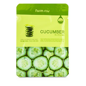 Farm Stay Visible Difference Mask Sheet – Cucumber 10x23ml/0.78oz