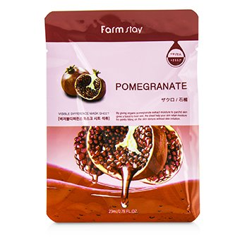 Farm Stay Visible Difference Mask Sheet – Pomegranate 10x23ml/0.78oz