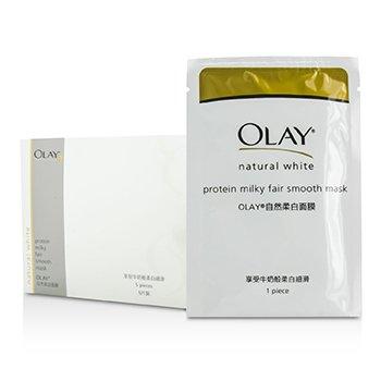 OlayNatural White Protein Milky Fair Smooth Mask 5pcs