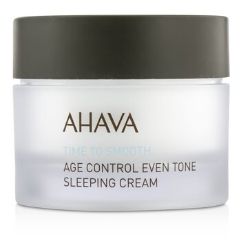 AhavaTime To Smooth Crema para Dormir Tono Parejo Control Edad 50ml/1.7oz