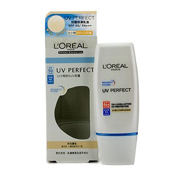 L'Oreal Dermo-Expertise UV Perfect 12H LongLasting Protector UVA/UVB SPF50+/PA+++ - #Even Complexion  30ml/1oz