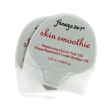 Freeze 24/7Skin Smoothie Retexturizing Glycolic Pads 10% 16 Pads