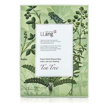 LLangOrganic Cotton Blossom Mask - Tea Tree (Soothing) 10x22ml/0.7oz