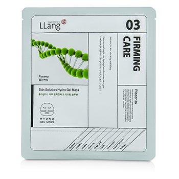 LLangSkin Solution Hydro Gel Mask - Placenta (03 Firming Care) 5x25g/0.9oz
