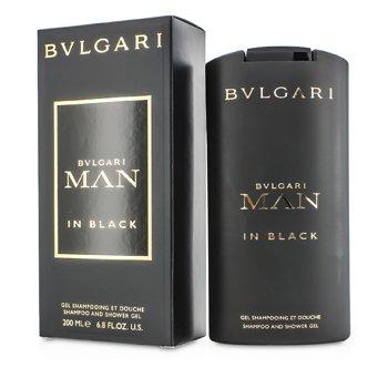 BvlgariMan In Black Shampoo & Shower Gel 200ml/6.8oz