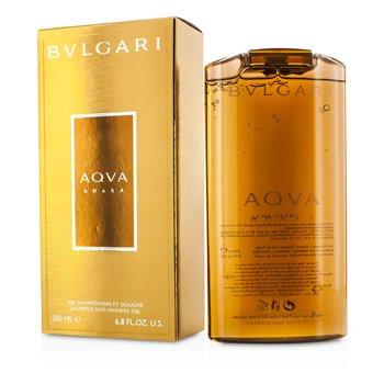 BvlgariAqva Amara Shampoo & Shower Gel 200ml/6.8oz
