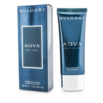 BvlgariAqva Pour Homme After Shave Balm (Tube) 100ml/3.4oz