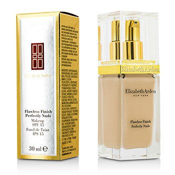 Elizabeth Arden Flawless Finish Perfectly Nude Makeup SPF 15 – # 02 Alabaster 30ml/1oz