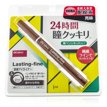 Dejavu 持久纤细眼线液(新配方) - Glossy Brown 0.5ml/0.016oz