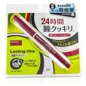 Dejavu Lasting Fine Eyeliner - Real Black 0.12g/0.004oz