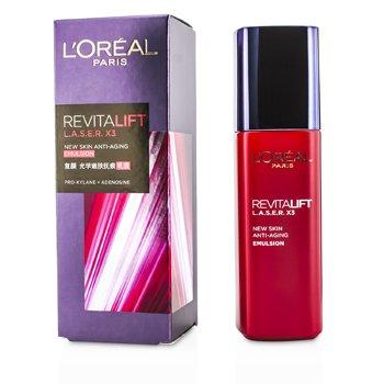 L'Oreal Revitalift Laser x3 – New Skin Anti-Aging Emulsion 125ml/4.23oz