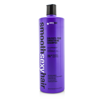 Sexy Hair ConceptsSmooth Sexy Hair Sulfate-Free Smoothing Shampoo (Anti-Frizz) 1000ml/33.8oz