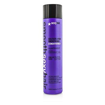 Sexy Hair Concepts Smooth Sexy Hair Acondicionador Alisante Libre de Sulfato (Anti Frizz)  300ml/10.1oz