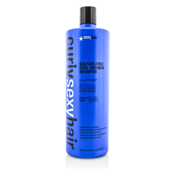 Sexy Hair ConceptsCurly Sexy Hair Sulfate-Free Curl Defining Shampoo (Curl Nourishing) 1000ml/33.8oz