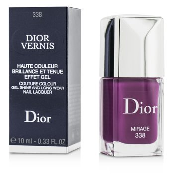 Christian Dior Dior Vernis Couture Esmalte U�as Larga Duraci�n Brillo Gel  - # 338 Mirage  10ml/0.33oz