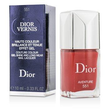 Dior Vernis Couture Colour Сияющий и Стойкий Лак для Ногтей - # 551 Aventure 10ml/0.33oz от Strawberrynet