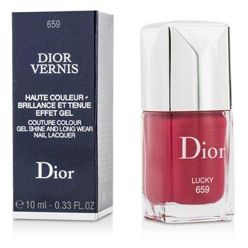Christian Dior Dior Vernis Couture Colour Gel Shine & Long Wear Nail Lacquer - # 659 Lucky  10ml/0.33oz
