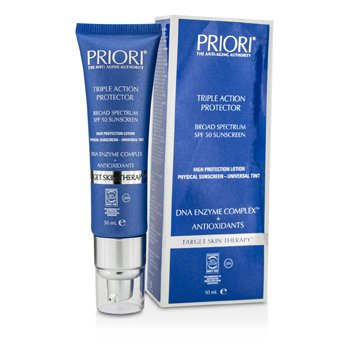 PrioriDNA Enzyme Complex Triple Action Protector SPF 50 (Box Slightly Damaged) 50ml/1.69oz
