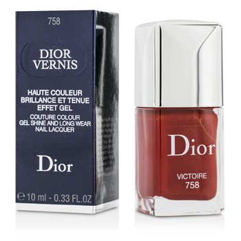 Christian Dior Dior Vernis Couture Esmalte U�as Larga Duraci�n Brillo Gel  - # 758 Victoire  10ml/0.33oz