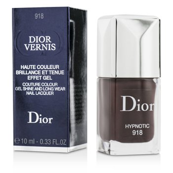 Christian Dior Dior Vernis Couture Colour Gel Shine & Long Wear Nail Lacquer - # 918 Hypnotic  10ml/0.33oz