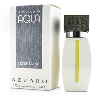 Loris Azzaro Aqua Cedre Blanc EDT Spray 75ml/2.6oz  men
