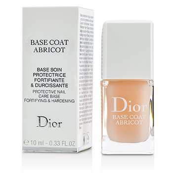 Christian DiorBase Coat Abricot (Protective Nail Care Base) 10ml/0.33oz