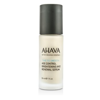 AhavaTime To Smooth Age Control Brightening and Renewal Serum 30ml/1oz