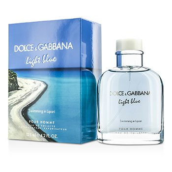 Dolce & Gabbana Light Blue Swimming In Lipari Eau De Toilette Spray (Edici�n Limitada)  125ml/4.2oz