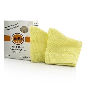 Yu-Be Heel & Elbow Socks – One Size Fits All 1 pair