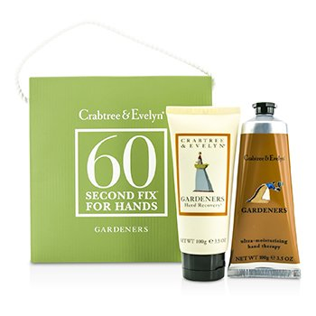 Crabtree & EvelynGardeners 60 Second Fix for Hands: Hand Recovery 100g + Hand Therapy 100g 2pcs