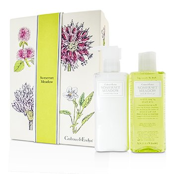Crabtree & EvelynSomerset Meadow Duo: Bath & Shower Gel 200ml + Body Lotion 200ml 2pcs