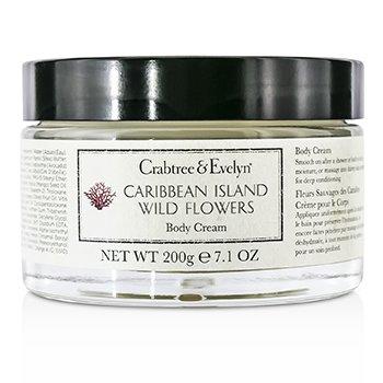 Crabtree & EvelynCaribbean Island Wild Flowers Body Cream 200g/7.1oz