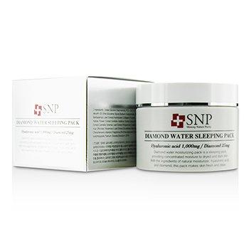 SNP Diamond Water Ночная Маска - Увлажняющая 100g/3.5oz