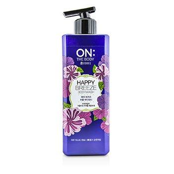 ON THE BODYHappy Breeze Body Wash 500g/17.6oz