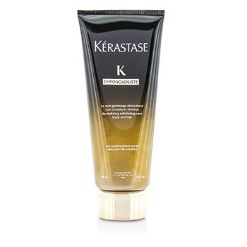 Kerastase Chronolgiste Revitalizing Exfoliating Care – Scalp and Hair (Rinse-Out Pre-Shampoo) 200ml/6.8oz