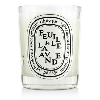Diptyque Scented Candle - Feuille De Lavande (Lavender Leaf) 190g/6.5oz