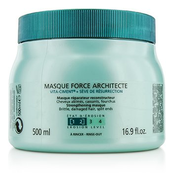 Kerastase Resistance Force Architecte Reconstructing Masque (For Brittle, Very Damaged Hair, Split Ends)  500ml/16.9oz
