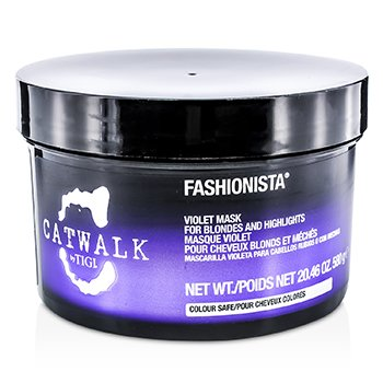 TigiCatwalk Fashionista Violet Mask (For Blondes and Highlights) 580g/20.46oz