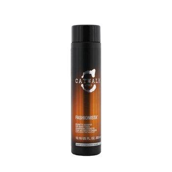 TigiCatwalk Fashionista Brunette Shampoo (For Warm Tones) 300ml/10.16oz