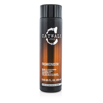 TigiCatwalk Fashionista Brunette Conditioner (For Warm Tones) 250ml/8.45oz