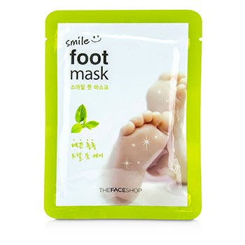 The Face Shop Smile Foot Mask 5x18ml/0.6oz