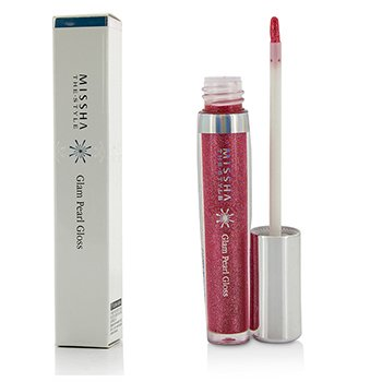 Missha The Style Glam Pearl Gloss – #RD101 Rose Red 6ml/0.2oz