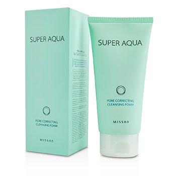 MisshaSuper Aqua Pore Correcting Cleansing Foam 150ml/5.07oz