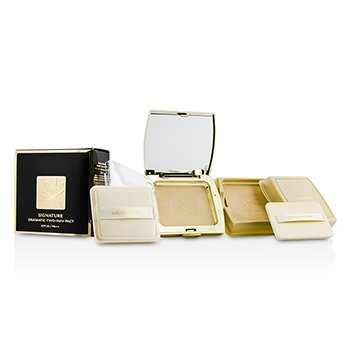 Missha Signature Dramatic Two Way Pact SPF25 - #21 Light Beige 11g/0.37oz make up