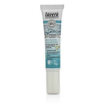 Lavera Basis Sensitiv Anti-Ageing Eye Cream Q10  15ml/0.5oz