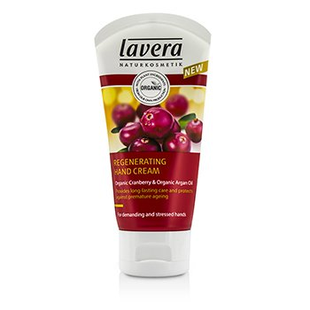 Lavera Organic Cranberry & Argan Oil Regenerating Hand Cream 50ml/1.6oz